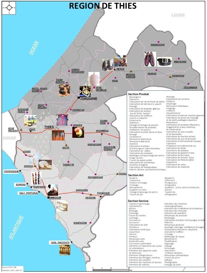 la carte industrielle 11